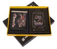 """Подарочный набор """"Лампа"""" (обложка на паспорт и зажим для денег)"""