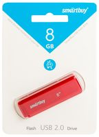 USB Flash Drive 8Gb SmartBuy Dock (Red)