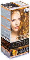 """Крем-краска для волос """"Gloris"""" (тон: 8.1, карамельный блонд; 2 шт.)"""