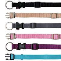 """Ошейник нейлоновый для собак """"Premium Collar"""" (размер M-L, 35-55 см, черный)"""