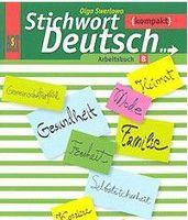 Ключевое слово - немецкий язык. Компакт. 10-11 классы. Рабочая тетрадь Б