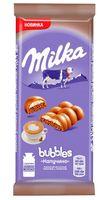 "Шоколад молочный ""Milka. Bubbles. Капучино"" (97 г)"