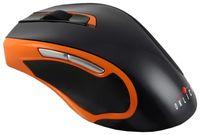 Беспроводная оптическая мышь OKLICK 408MW (Black/Orange)