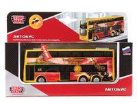 """Модель машины """"Двухэтажный экскурсионный автобус. Зоопарк"""""""