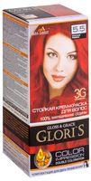 """Крем-краска для волос """"Gloris"""" (тон: 5.5, красная рябина; 2 шт.)"""