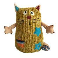 """Мягкая игрушка """"Кот Котейка"""" (15 см; желтый)"""