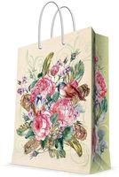 """Пакет бумажный подарочный """"Розовый куст"""" (17,8х22,9х9,8 см; арт.43511)"""