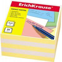 """Бумага для заметок """"Erich Krause"""" (90х90 мм; бело-желтая; арт. 2721)"""