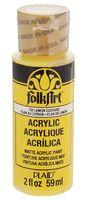 """Краска акриловая """"FolkArt. Acrylic Paint"""" (лимонный заварной крем; 59 мл; арт. PLD-00735)"""