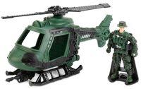 """Игровой набор """"Армейский вертолёт"""" (со световыми и звуковыми эффектами)"""