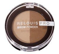 """Тени для бровей """"Brow Powder"""" тон: 01, blonde"""