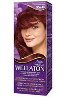 """Крем-краска для волос """"Wellaton. Интенсивная"""" (тон: 55/46, экзотический красный)"""