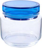 """Банка для сыпучих продуктов стеклянная """"Colorlicious Blue"""" (500 мл)"""