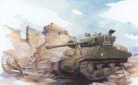 "Советский танк ""M4A2(76)W Red Army"" (масштаб: 1/72)"