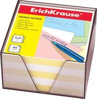 """Бумага для заметок """"Erich Krause"""" (90х90 мм; бело-желтая; арт. 2720)"""