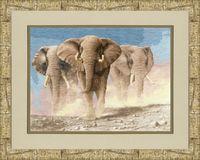 "Вышивка крестом ""Сердце Африки"" (410х285 мм)"