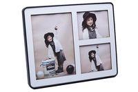 Рамка пластмассовая на 3 фото (арт. 803)