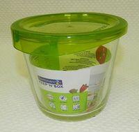 Контейнер для еды стеклянный (840 мл; арт. H8369)