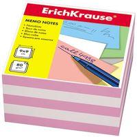 """Бумага для заметок """"Erich Krause"""" (90х90 мм; бело-розовая; арт. 2719)"""