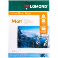"""Фотобумага """"Lomond Matt"""" (А4; 25 листов; 180 г/м2)"""