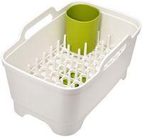 Набор для мытья и сушки посуды (белый)