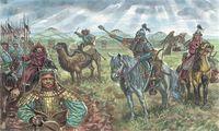 """Набор миниатюр """"Монгольская кавалерия"""" (масштаб: 1/72)"""