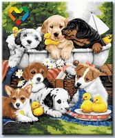 """Картина по номерам """"Дружные малыши"""" (500x600 мм; арт. HB5060010)"""