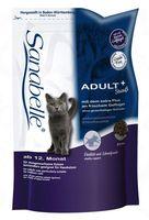 """Корм сухой для домашних кошек """"Adult"""" (400 г; страус)"""