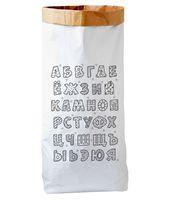 """Эко-мешок для хранения игрушек """"Русский алфавит"""""""