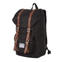Рюкзак 17209 (22,7 л; чёрный/коричневый)