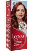 """Крем-краска для волос """"LondaColor"""" (тон: 47, огненно-красный)"""