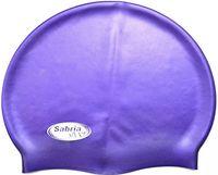 Шапочка для плавания (фиолетовая; арт. SC309)