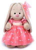"""Мягкая игрушка """"Зайка Ми в розовом платье"""" (25 см)"""