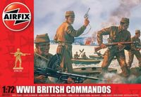 "Набор миниатюр ""Британские командос"" (масштаб: 1/72)"