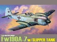 """Истребитель """"Fw190A-7 w/Slipper Tank"""" (масштаб: 1/48)"""