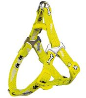 "Шлея для собак ""Modern Art Harness Woof"" (размер XS-S, 30-40 см, желтый, арт. 15201)"