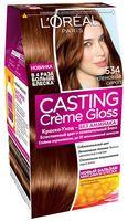 """Краска-уход для волос """"Casting Creme Gloss"""" (тон: 534, кленовый сироп)"""
