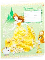"""Тетрадь в линейку """"Дисней. Принцессы"""" (12 листов; в ассортименте)"""