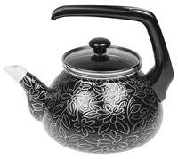 """Чайник стальной эмалированный """"Черный шелк"""" (2,2 л)"""