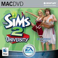 The Sims 2 University (версия для Mac)