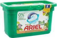 """Гель для стирки в капсулах 3в1 """"Ariel Color. Масло ши"""" (12 шт.)"""