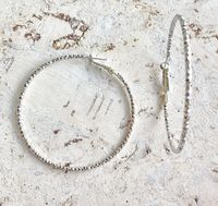 """Серьги """"Rings"""" (серебро; арт. 065-12)"""