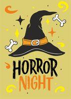 """Открытка """"Horror Night"""""""