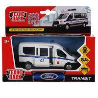 "Модель машины ""Ford Transit. Полиция"" (арт. SB-18-18-P(W)-WB)"