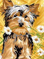 """Картина по номерам """"Милая собачка"""" (300х400 мм)"""