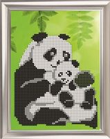 """Вышивка бисером """"Панда"""" (150х113 мм)"""