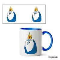 """Кружка """"Ледяной король. Время приключений"""" (арт. 095, голубая)"""