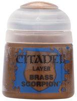 "Краска акриловая ""Citadel Layer"" (brass scorpion; 12 мл)"