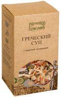 """Смесь для приготовления супа """"Греческий с красной чечевицей"""" (210 г)"""