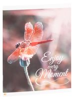 """Тетрадь полуобщая в клетку """"Enjoy Every Moment"""" (48 листов)"""
